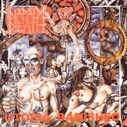 NAPALM DEATH - Utopia Banished - CD