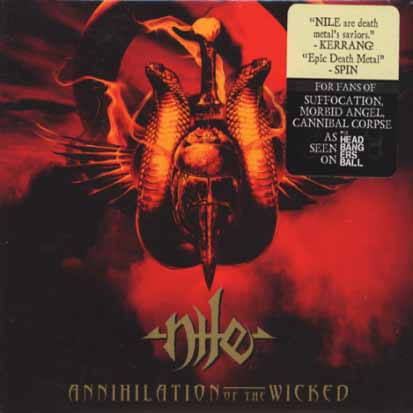 NILE - Annihilation Of The Wicked - CD