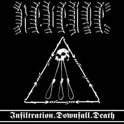 REVENGE - Infiltration. Downfall. Death. - CD