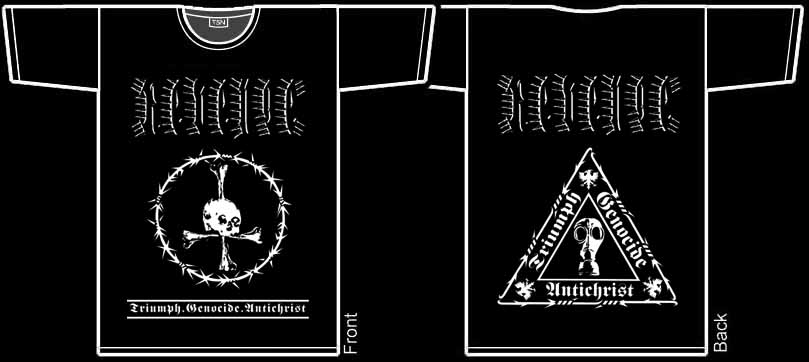 REVENGE - Triumph.Genocide.Antichrist. XL Size - T-shirt