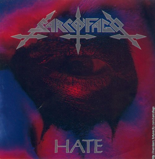 SARCOFAGO - Hate - CD