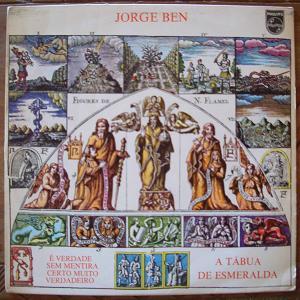 JORGE BEN - A tabua de esmeralda - LP