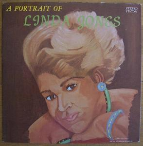 LINDA JONES - Portrait of - LP
