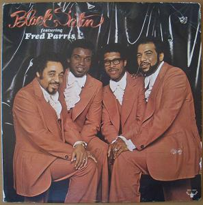 BLACK SATIN - Featuring Fred Parris - LP