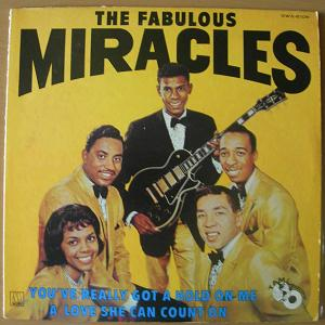 THE MIRACLES - The Fabulous - LP
