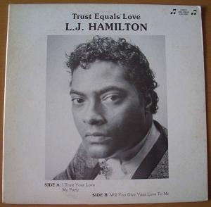 L.J. HAMILTON - Trust equals love - LP