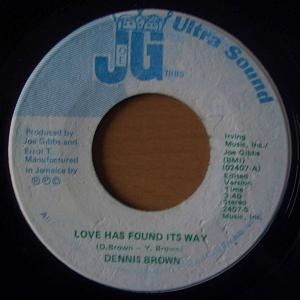 DENNIS BROWN - Love has found its way / Why baby why - 7inch (SP)