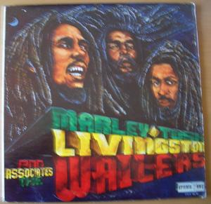 THE WAILERS - Marley, Tosh, Livingstone & Associates - LP