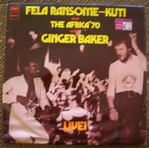 FELA KUTI AND GINGER BAKER - Live - LP