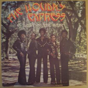 THE HOLIDAY EXPRESS - Lady in  the rain - LP