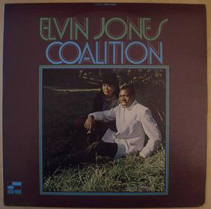 ELVIN JONES - Coalition - LP