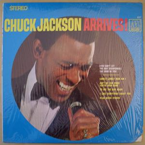 CHUCK JACKSON - Arrives! - LP