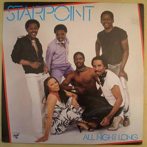 STARPOINT - All night long - LP
