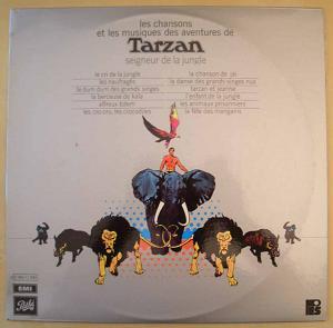 VARIOUS - Tarzan seigneur de la jungle - 33T