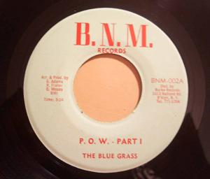 THE BLUE GRASS - P.O.W. - 7inch (SP)