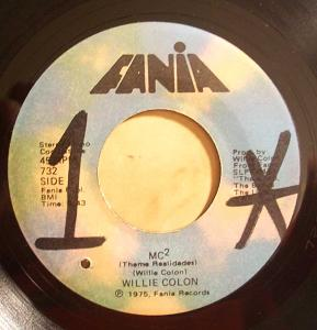 WILLIE COLON - MC2 / Toma - 7inch (SP)