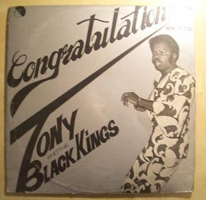 TONY GREY AND BLACK KINGS - Congratulations - LP