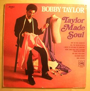 BOBBY TAYLOR - Taylor made soul - 33T