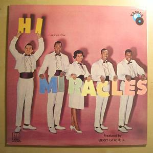 THE MIRACLES - Hi we're The Miracles - LP