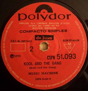 MUSIC MACHINE - Kool and the Gang / Do the funky chicken - 45T (SP 2 titres)