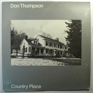 DON THOMPSON - Country Place - LP