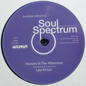 LEW KIRTON - Heaven In The Afternoon / Something Special - 12 inch 45 rpm