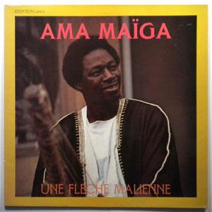 AMA MAIGA - Une Fleche Malienne - LP