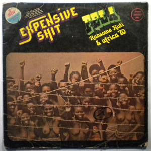 FELA KUTI - Expensive shit - LP
