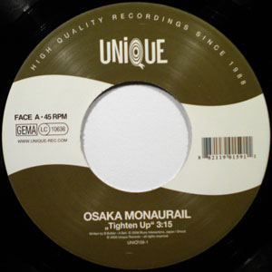 OSAKA MONORAIL - Tighten Up / Soulful Strut - 7inch (SP)
