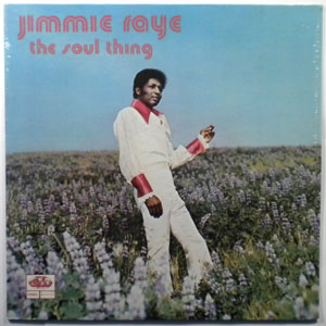 JIMMIE RAYE - The soul thing - LP