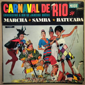 VARIOUS - Carnaval de Rio - LP