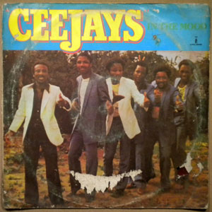 THE CEEJAYS - In the mood - LP