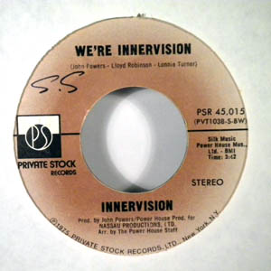 INNERVISION - We're innervision - 7inch (SP)