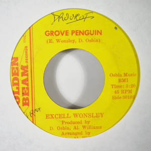 EXCELL WONSLEY - Groove penguin - 45T (SP 2 titres)
