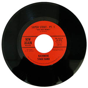 KASHMERE STAGE BAND - Super strutt - 7inch (SP)