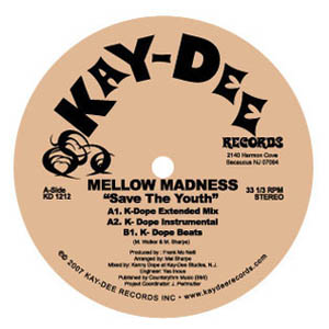 MELLOW MADNESS - Save the youth - 12 inch 45 rpm