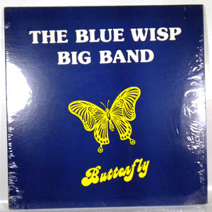THE BLUE WISP BIG BAND - Butterfly - LP