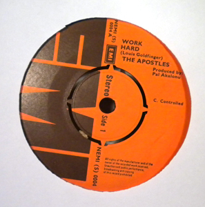 THE APOSTLES - Work hard / Acts of the Apostles - 7inch (SP)
