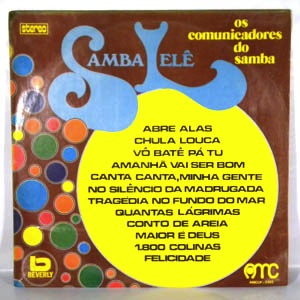 OS COMUNICADORES DO SAMBA - Same - LP