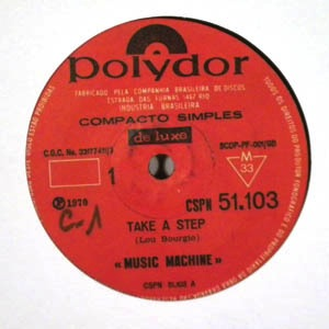 MUSIC MACHINE - Take a step / Black power - 7inch (SP)