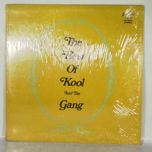 KOOL AND THE GANG - The Best of Kool and the Gang - LP