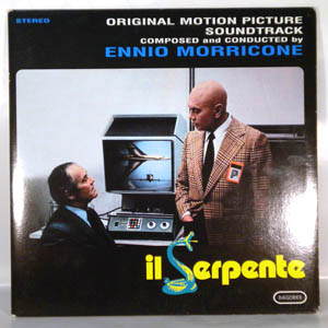 ENNIO MORRICONE - Il Serpente - LP
