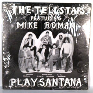 THE TELLSTARS FEATURING MIKE ROMAN - Play Santana - LP