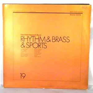 THE DELLE HAENSCH BAND - Rhythm & Brass & Sports - LP