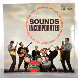 SOUNDS INCORPORATED - Same - LP