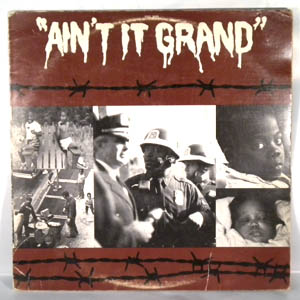ERIC BIBB - Ain't It Grand - LP