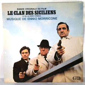 ENNIO MORRICONE - Le Clan Des Siciliens - LP
