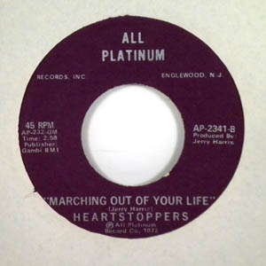 HEARTSTOPPERS - Marching out of your life - 7inch (SP)