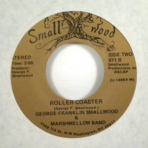 GEORGE FRANKLIN SMALLWOOD & MARSHMELLOW BAND - Hey jude / Roller coaster - 7inch (SP)