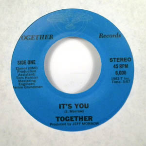 TOGETHER - It's you _ you're the one for me - 7inch (SP)